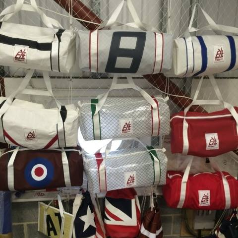 Sailcloth Kit Bags