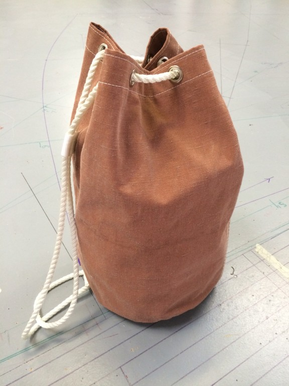 2332d2dc35ce Recycled Traditional Sail Canvas Duffle Bag