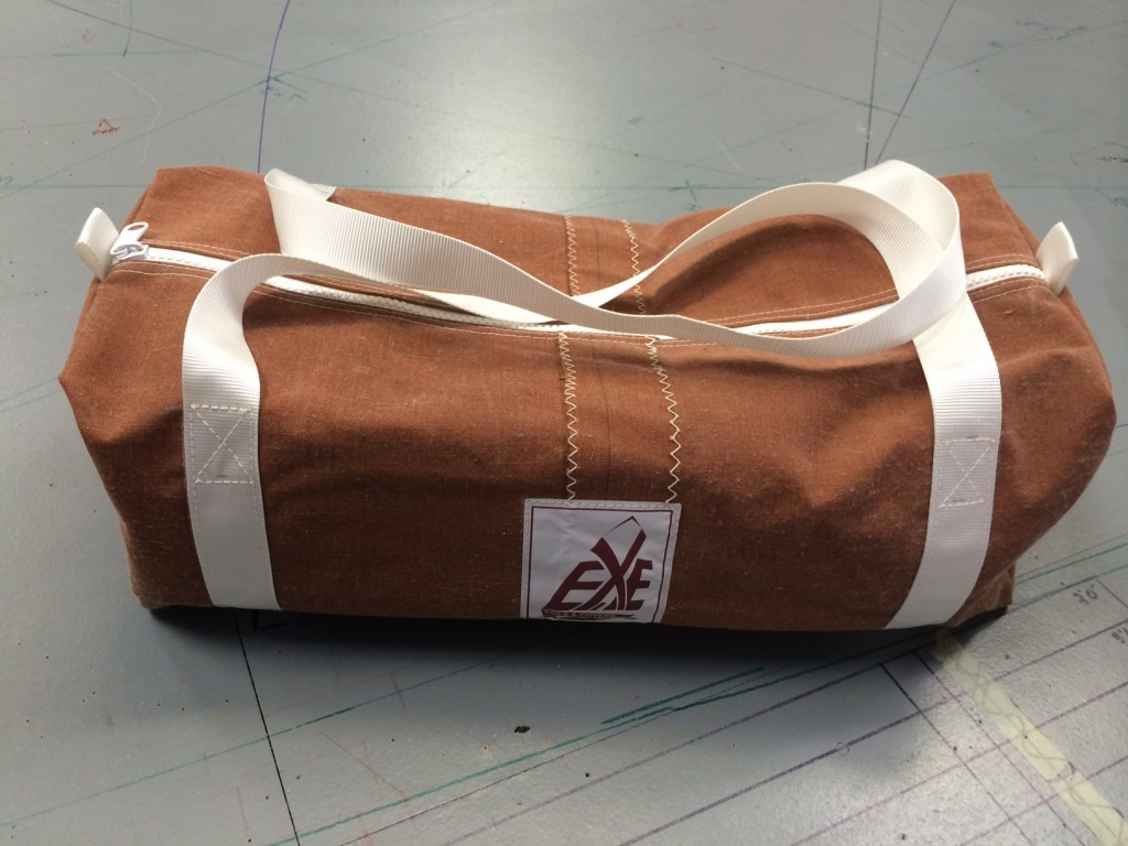 Recycled Traditional Sail Canvas Kit Bag